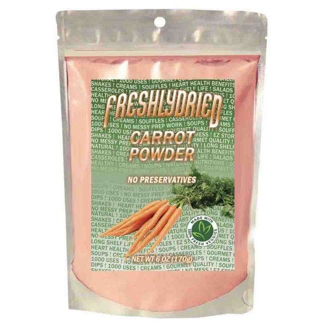 Carrot Powder Pouch