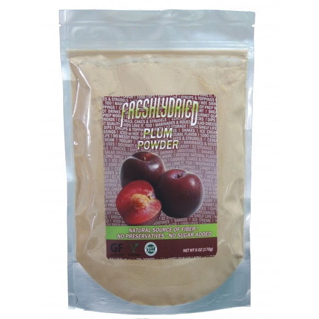 Plum Powder Pouch